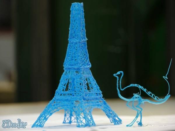 神奇的 3Doodler 立體模型繪畫筆