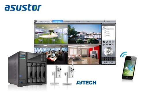 ASUSTOR adds AVTECH IP cam