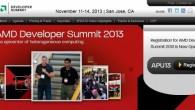 AMD美商超微半導體宣布 2013 年 AMD 開發者高峰會(AMD Devel […]