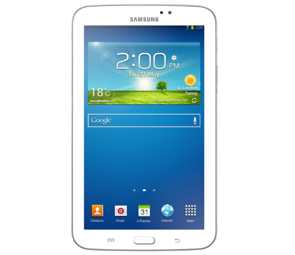 20130731 GALAXY Tab 3 7.0_White(Front)