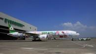 長榮航空第一架777-300ER Hello Kitty彩繪機 「牽手機」日前首 […]