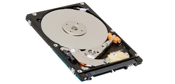 2. Toshiba全新2.5吋薄7毫米雙碟片硬碟產品圖。