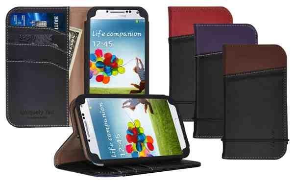 3 _ LUXA2 Signature Samsung GALAXY S4 皮夾式保護皮套 x 光泉甜點祭•千萬虛寶開盒送