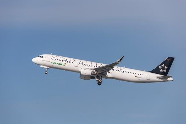 A321_Sharklet_EVA_StarAliance