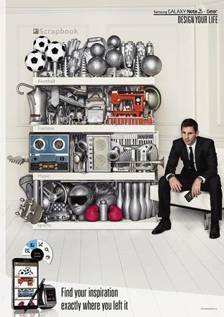 Samsung-國際足球巨星梅西現身三星「Design Your Life你的世界 你來掌握」廣告 copy
