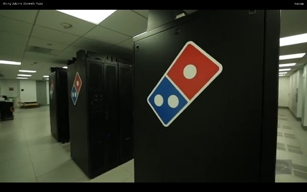 Slicing Data For Domino's Pizza