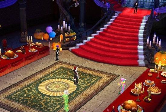 06 神秘的狂歡派對在華麗廳堂中舉行