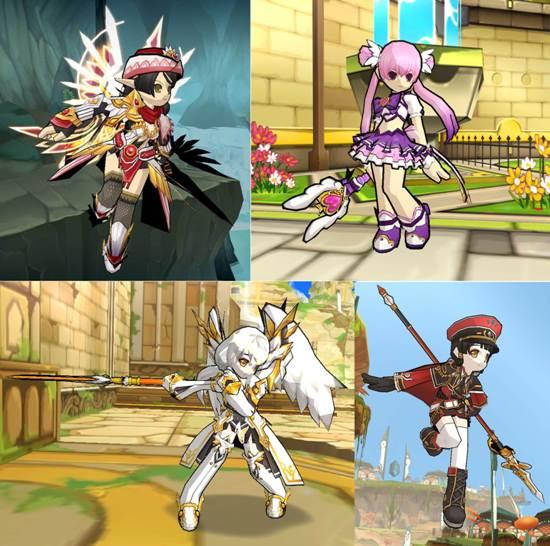 2-「埃及神祇」、「魔法少女」、「弧光天使」及「艾爾搜查隊」打造《艾爾之光》經典生日派對Look