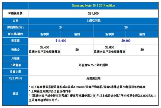 20131112-Samsung GALAXY Note10.1 2014-1