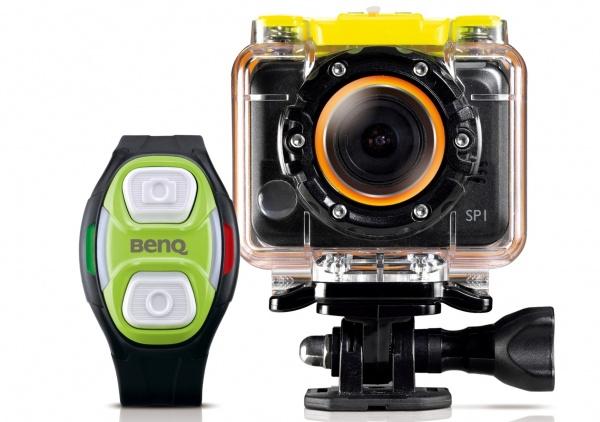 BenQ SP1極限運動分享機 & 腕錶遙控裝置