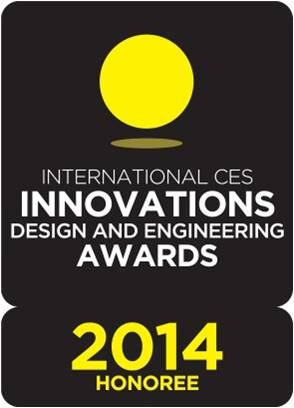 CES Innovations 2014 Design and Engineering Awards Honoree