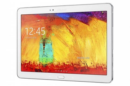 GALAXY Note 10.1  2014版配備10.1吋大螢幕,WQXGA螢幕解析度提升至299pp