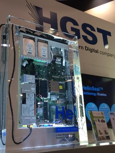 HGST He6 Liquid Cooling