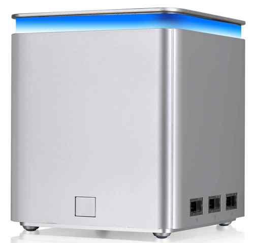 LUXA2 納爾莎P-MEGA的藍色LED氣氛燈兼具美學藝術與實用機能