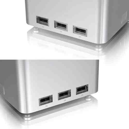 LUXA2 納爾莎P-MEGA設有六個USB充電槽,可連續充電使用48小時以上不斷電