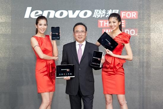 Lenovo聯想新聞圖說一】Yoga Tablet 獨特長「腳」設計,引領消費者進入前所未有的平板新世代。