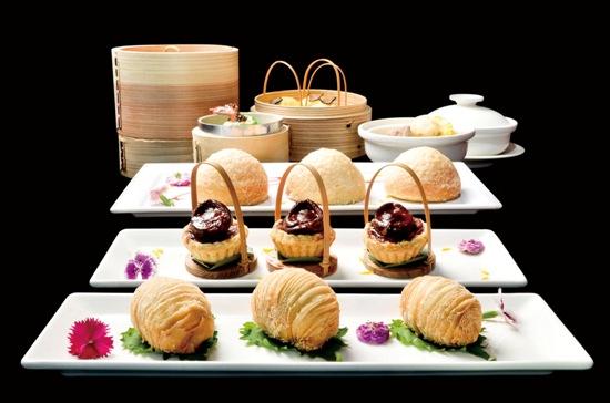 20131130台北W飯店 紫艷中餐廳 港點買五送二