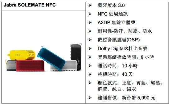 Jabra SOLEMATE NFC copy