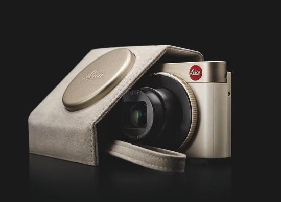 Leica C、C_Twist皮套及C_Wrist Straps手腕帶 - 淺金