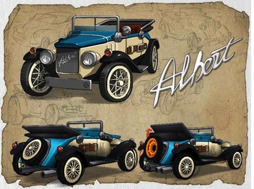 2-《跑跑卡丁車》1920年代復古車款「勞迪雷諾」浪漫登場