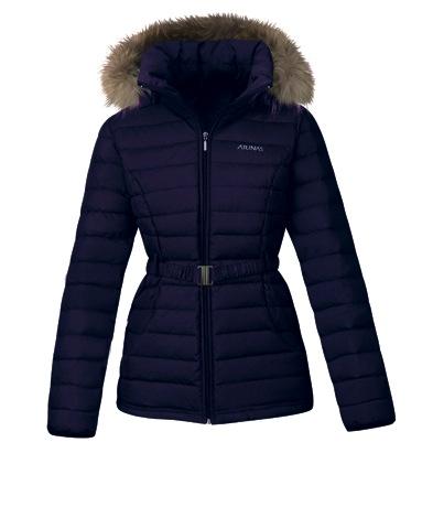 2014歐都納WINDSTOPPER@女款羽絨外套,表布內層加入WINDSTOPPER@薄膜,可有效阻隔風的侵入,並防止身體熱量流失. copy