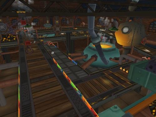 3-玩家將可穿越至1920年代濃厚懷舊風的工廠、車站等體驗經典賽道的不同感受