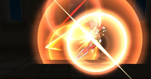 4-「無限之刃」(上)與「強力破壞」(下)是「愛利西斯」的兩大強力技能 迅猛威力讓魔族聞之膽寒_無限之刃