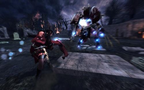 4-當「玲」與敵人近戰,可使出流星飛舞的「落花」重擊敵人要害