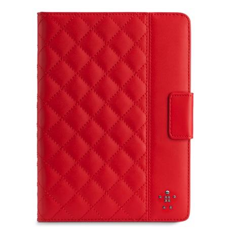 Belkin iPad Air 紅色菱格紋保護套,售價 1750元 copy