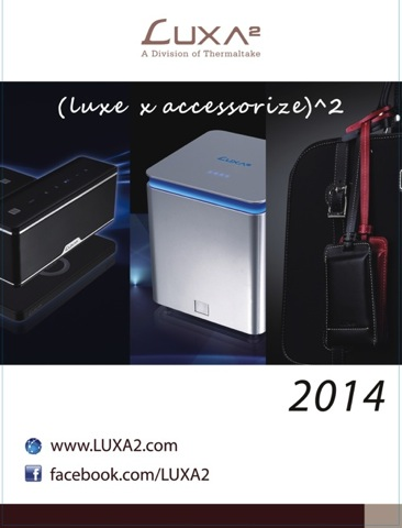 LUXA2納爾莎於CES2014展出 copy copy
