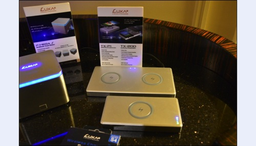 LUXA2納爾莎 P-MEGA S 20800mAh 行動充電站 , TX 200 多功能無線充電板, 以及 TX-P1 5000mAh無線充電移動電源 copy
