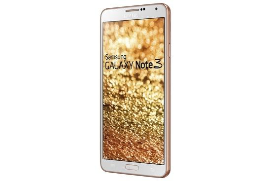 Samsung GALAXY Note3玫瑰金白_側面 copy