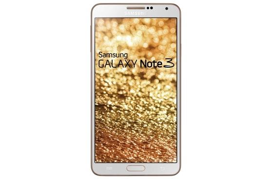 Samsung GALAXY Note3玫瑰金白_正面 copy