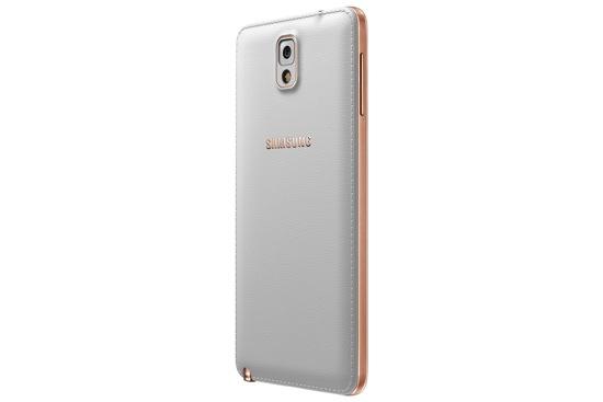 Samsung GALAXY Note3玫瑰金白_背面右 copy