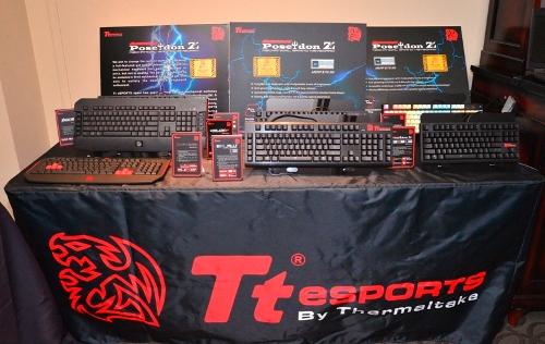 Tt eSPORTS「POSEIDON Z全彩背光機械式電競鍵盤」、「競之刃BALMUS 全背光機械式電競鍵盤」與「POSEIDON X電競鍵盤」
