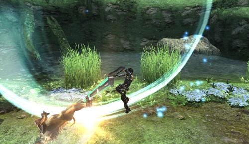 02 「獵人」擅長「大劍」、「索刃」等武器給予敵人終結的一擊,是單獨戰鬥能力優秀的近戰專家,最適合新手玩家。