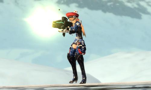 03 「遊俠」可靈巧操持「步槍」、「大砲」等強大火力的武器,關鍵時刻一擊必殺,是後攻型戰鬥的射擊專家!