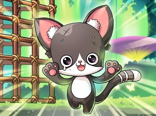 08 樂天活潑的貓咪阿樂則是補充「幻獸師」體力值、經驗值等Buff的最佳幫手!