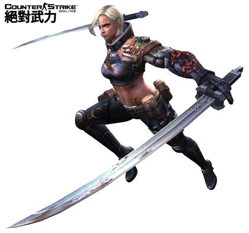 2-雙BOSS「雙刃娜吉」與「重砲菲納絲」進攻速度飛快,兩者體力差距拉大,體力少者即會「狂暴化」暴走並強力反擊-雙刃娜吉