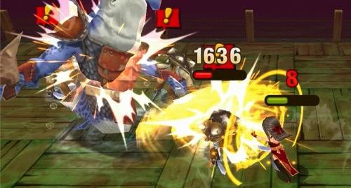 2014圖說4:「發勁」技能將加倍「紅蓮」的攻擊力道,讓魔物們瞬間大量失血! copy