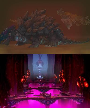 2014圖3-《艾爾之光》全新副本地圖「沙提勒斯號」(上)及「貝西莫斯的心臟」(下)挑戰玩家緊繃神經