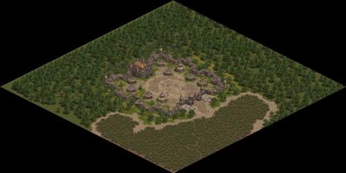 2014圖4  妖魔城是攻城戰2.0版本中改變最大的城堡,出入口縮減至1個,並移除守護塔旁的圍牆,增加攻守城的刺激感!