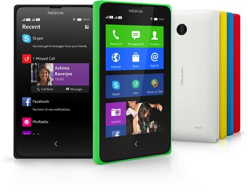 2014 Nokia X+ copy