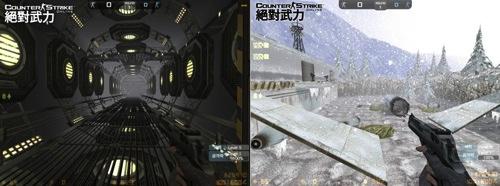 4-研究所內近似無重力的空間設定,讓玩家在與殭屍對戰時,可使出高難度的跳躍和移動閃避等動作,一嚐飛天的輕盈快感!