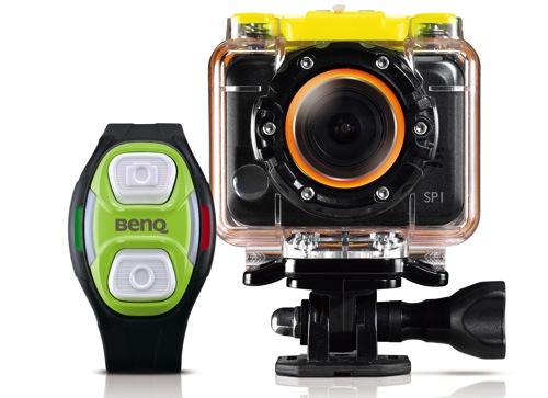 BenQ SP1運動攝影機 & 腕錶遙控裝置 copy