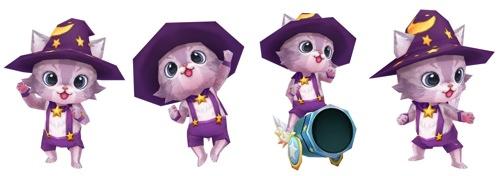 2014圖說2:新登場的王牌貓咪「奧茲」,將以不同的形象與玩家見面! copy