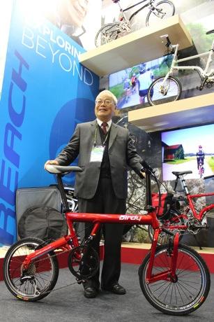 2014太平洋自行車董事長林正義看好2014自行車市場將持續上揚 copy