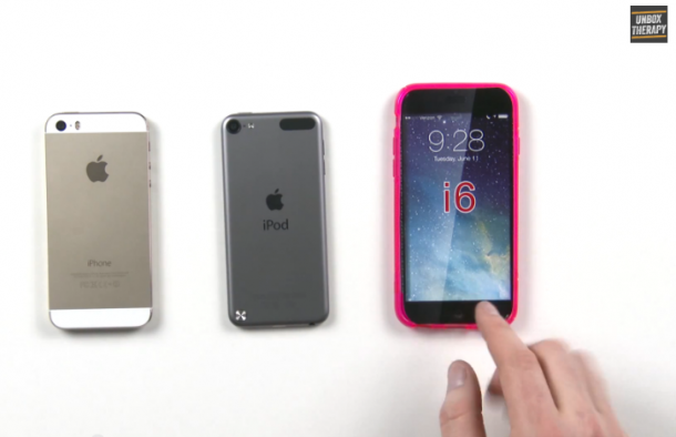 iPhone 5S vs ipod touch vs iphone 6