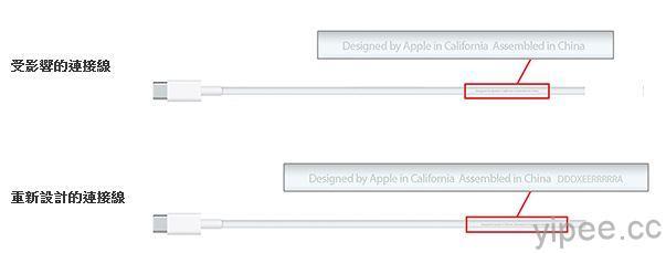 Apple USB-C 充電連接線更換方案