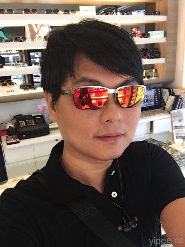 恆源眼鏡 品牌太陽眼鏡改有度數-完成自拍